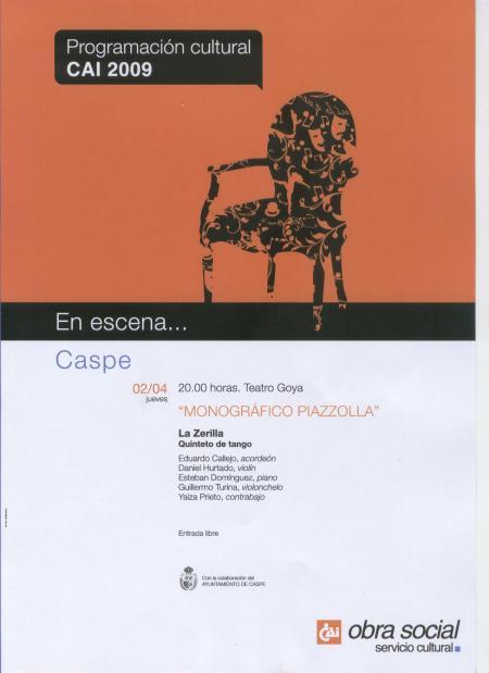 """""""Monográfico Piazzola"""""""