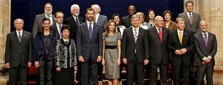 Premios Principe de Asturias 2009