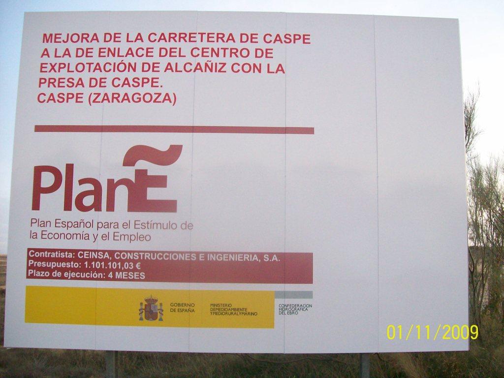 PlanE -Carretera Zaragozeta-